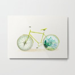 Have an Adventure Today Metal Print