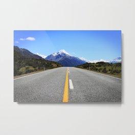 Mount Cook - New Zealand travel photography Metal Print
