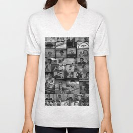 The Protectors of Hollywood Boulevard Unisex V-Neck