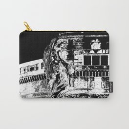 Ponte Sant'Angelo, Rome Carry-All Pouch