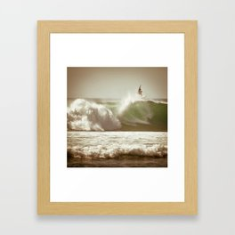 Ride on Bali Framed Art Print