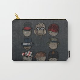 You like hats? I'm mad about hats! Carry-All Pouch