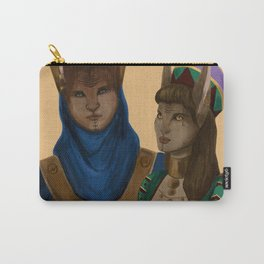 Thycenian Couple Carry-All Pouch