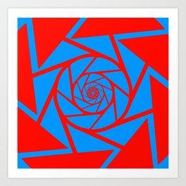 Aperture Vector Art Print