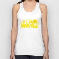 starwars Tank Tops featuring StarWars  by WaXaVeJu
