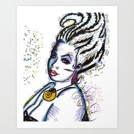 Ursula the Sea Witch Art Print