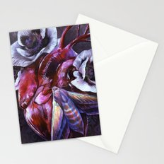 Moth and Heart Stationery Cards