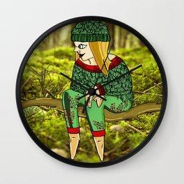 Medard the fairy man Wall Clock