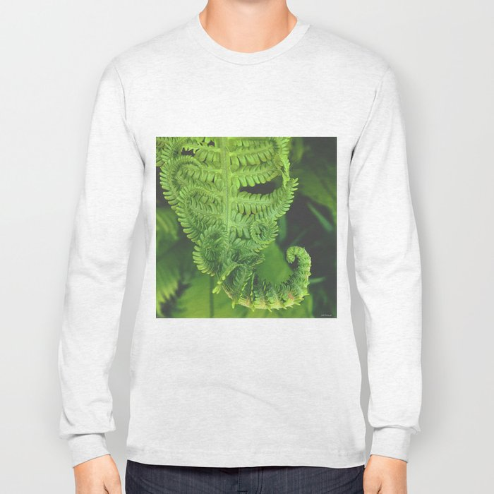 finishing fern series Long Sleeve T-shirt
