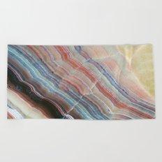 Pastel Onyx Marble Beach Towel