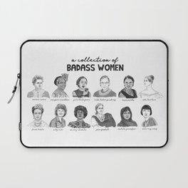 A Collection of Badass Women Laptop Sleeve
