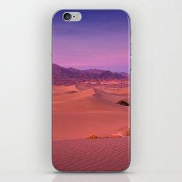 Mesquite Dunes Sunset iPhone Skin