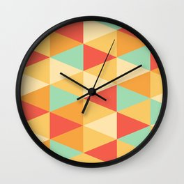 DH portrait Wall Clock