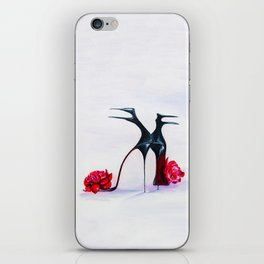 Luxury shoes iPhone Skin