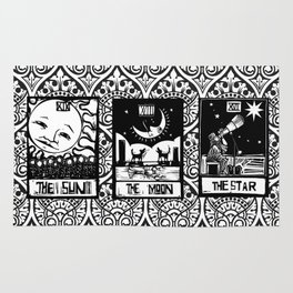 tarot card tray Rug