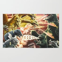 destroy all monsters Rug