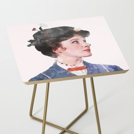 Mary Poppins - Watercolor Side Table