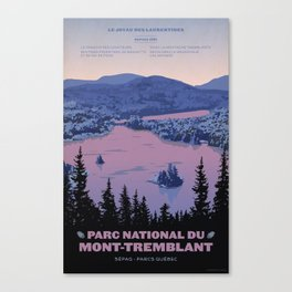 Parc National du Mont-Tremblant Canvas Print