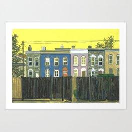 Charming Vignette 18 (Remington Alley) Art Print