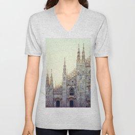 Duomo of Milan Unisex V-Neck