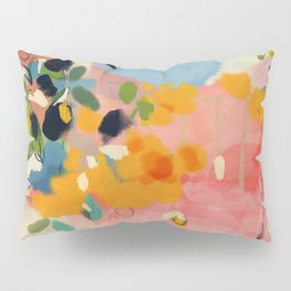 garden with sea view and olive tree Pillow Sham