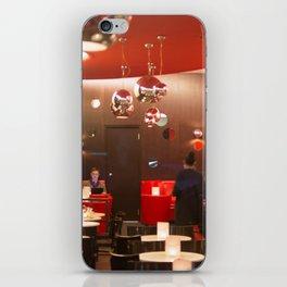 Red café PARIS iPhone Skin