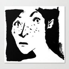 Women portrait Canvas Print