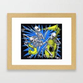 Atomic Blues Framed Art Print