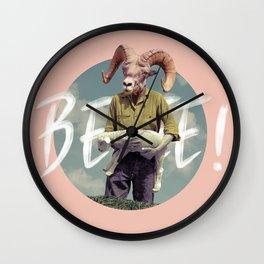 Goat farmer Wall Clock