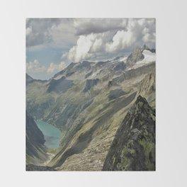 zillergründl dam Austria Throw Blanket