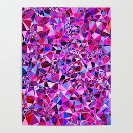 Abstract Pattern XVII Poster