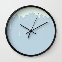 Mint Flavor Wall Clock