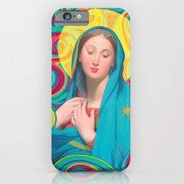Surreal Madonna iPhone Case
