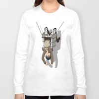 attack on titan Long Sleeve T-shirts featuring Attack on Titan -Shingeki no Kyojin by Daniel Zeni