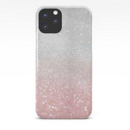 Blush Gray Princess Glitter #1 (Faux Glitter - Photography) #shiny #decor #art #society6 iPhone Case