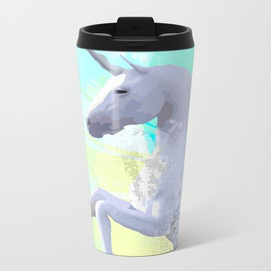 Magic Unicorn I Metal Travel Mug