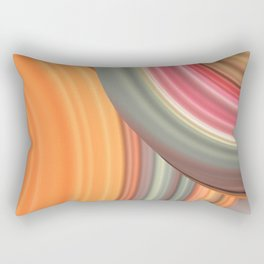 Big Circles Rectangular Pillow
