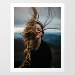 Symmetry Of Wind Art Print
