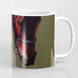 Rebel Dressage Horse Coffee Mug