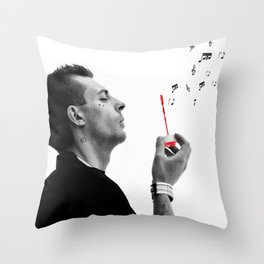 FREE YOUR MUSIC Throw Pillow