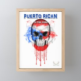 To The Core Collection: Puerto Rico Framed Mini Art Print