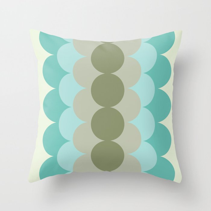 Gradual Oliva Retro Throw Pillow