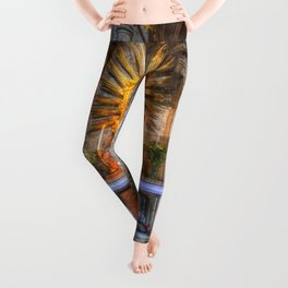 Saint Padre Pio St Stephens Cathedral Vienna Leggings
