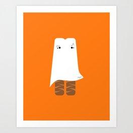 Ghost Twix - Halloween party Art Print