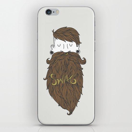 Beard Swag (Highlights) iPhone & iPod Skin