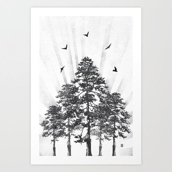 Zephyr Art Print