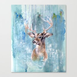 Deer Flow Canvas Print