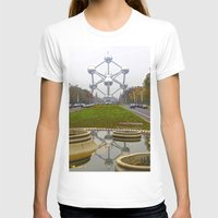 brussels T-shirts featuring Atomium Brussels Painted Photography by Premium