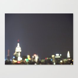 Thanks for the Memories, New York Canvas Print