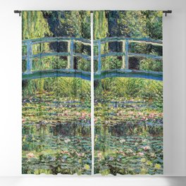 Claude Monet - The Water Lily Pond and the Japanese Bridge Blackout Curtain